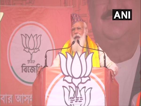 Prime Minister Narednra Modi (Photo/ANI)
