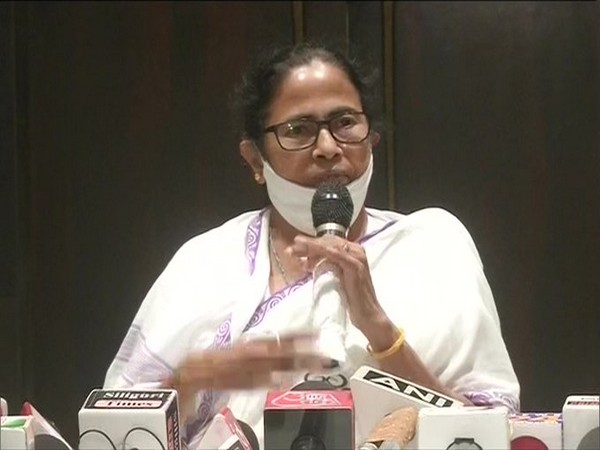 West Bengal Chief Minister Mamata Banerjee in Siliguri on Saturday. (Photo/ANI)