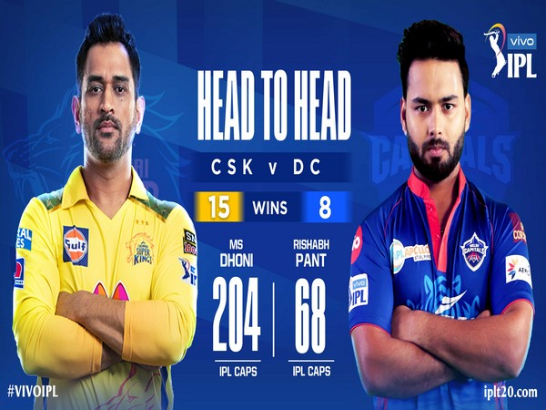 CSK and DC battle it out at the Wankhede Stadium (Photo/ IPL Twitter)