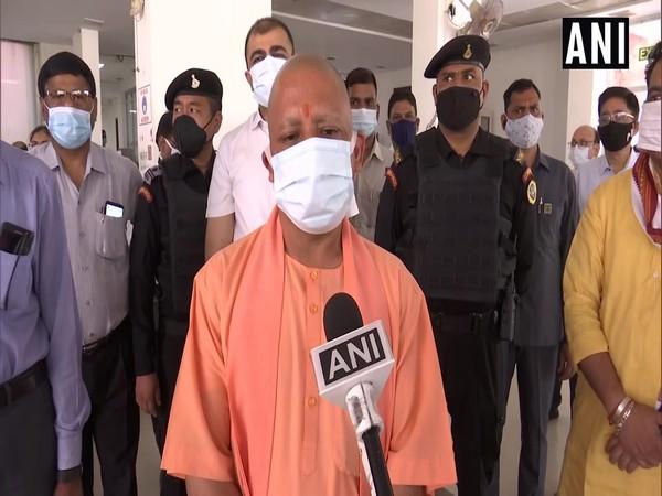 Uttar Pradesh Chief Minister Yogi Adityanath speaking to ANI in Lucknow on Sunday. [Photo/ANI]