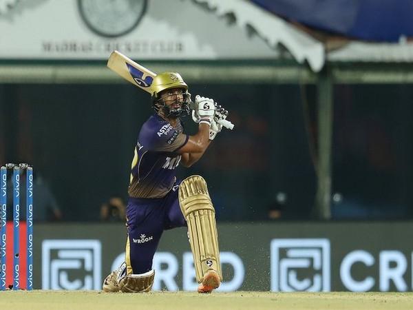 KKR batsman Rahul Tripathi (Photo/ IPL Twitter)