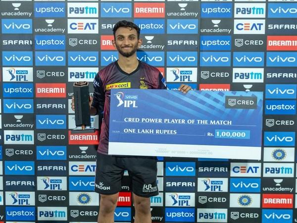 KKR pacer Prasidh Krishna (Photo/ IPL Twitter)