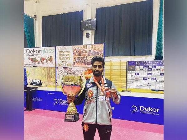 Indian Table Tennis player Gnanasekaran Sathiyan (Image: Indian Table Tennis player Sathiyan Gnanasekaran's Twitter)