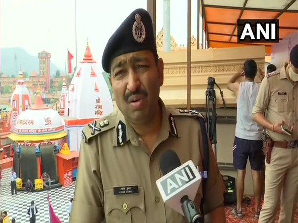Uttarakhand DGP Ashok Kumar speaking to ANI in Haridwar on Monday. [Photo/ANI]