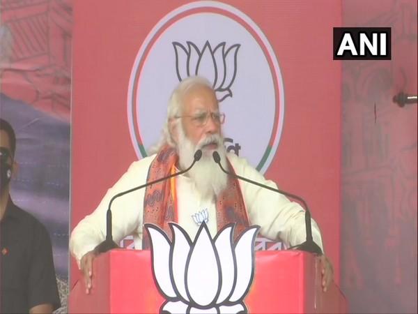 Prime Minister Narendra Modi in Bardhaman