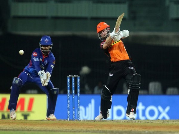 Kane Williamson in action against Delhi Capitals (Photo/ IPL Twitter)