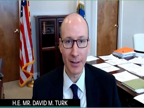 US Deputy Secretary of Energy, David M Turk