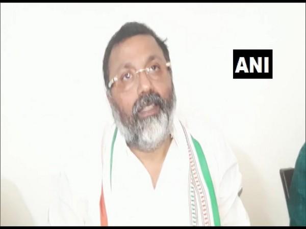 BJP MP Nishikant Dubey speaking to ANI