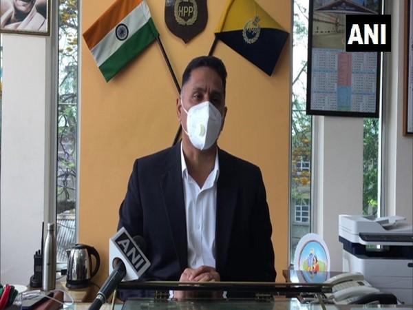 Superintendent of Police Vimukh Ranjan. (Photo/ANI)