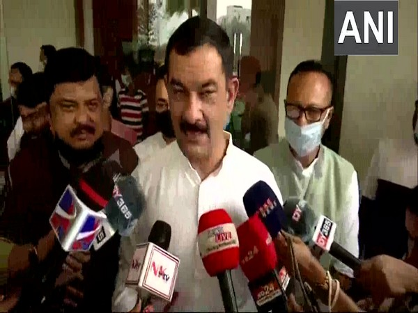 All India Congress in charge of Assam, Jitendra S Alwar (Photo/ANI)