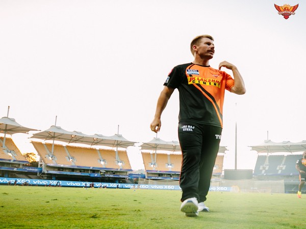SRH skipper David Warner (Photo/ SRH Twitter)