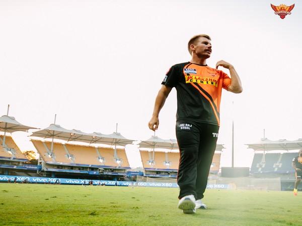 SunRisers Hyderabad batsman David Warner (Photo/ SRH Twitter)