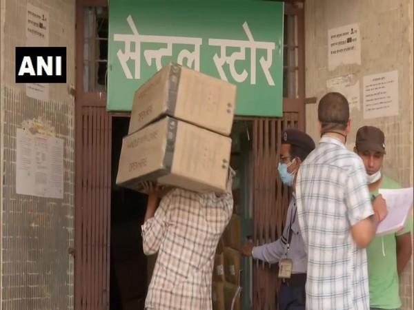 Visual from Hamidia Hospital in Bhopal. (Photo/ANI)