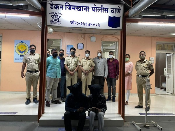 Two people were arrested on Saturday in Pune for issuing fake RT-PCR reports. [Photo/ANI]
