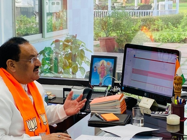 BJP president JP Nadda (Photo/ANI)