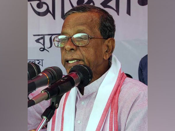 Former Chief Minister of Assam Bhumidhar Barman