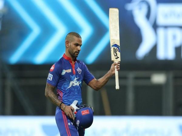 Delhi Capitals opening batsman Shikhar Dhawan (Photo/ IPL Twitter)