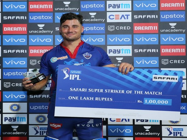 Delhi Capitals' all-rounder Marcus Stoinis (Photo/ IPL Twitter)