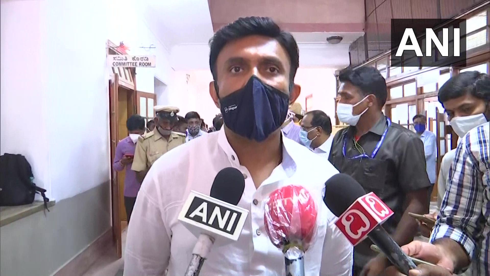 arnataka Health Minister Dr K Sudhakar (Photo/ANI)