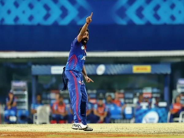 Delhi Capitals' spinner Amit Mishra (Photo/ IPL Twitter)