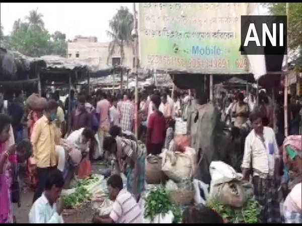 Visual from the market (Photo/ANI)