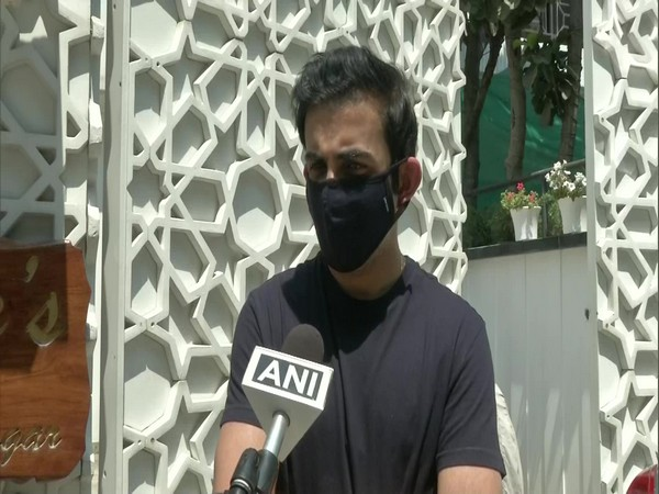 BJP MP Gautam Gambhir speaking with ANI on Thursday (Photo/ANI)