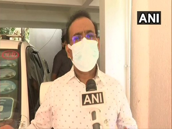 Maharashtra Health Minister Rajesh Tope speaking to ANI in Mumbai on Thursday. [Photo/ANI]