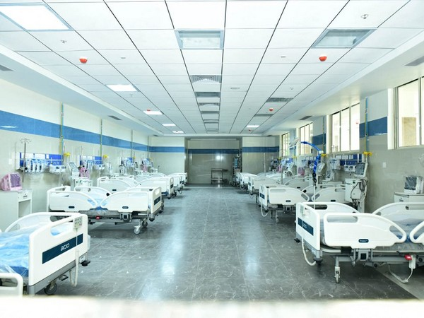 Visual from the SAIL Super Specialty Hospital at Rourkela.