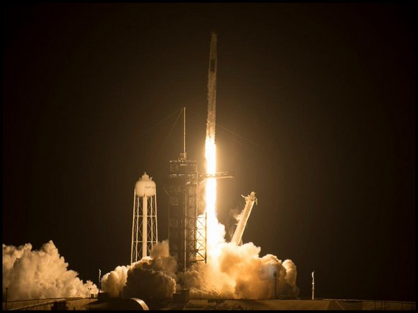 Space X rocket launched on Friday in Florida (Photo/NASA on Twitter)