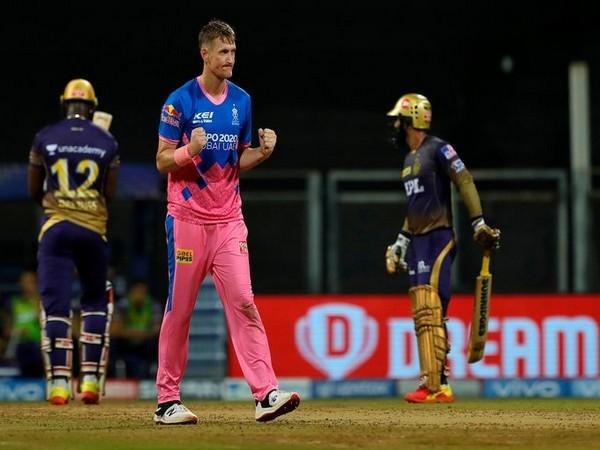 Chris Morris in action against KKR (Phoot/ IPL Twitter)