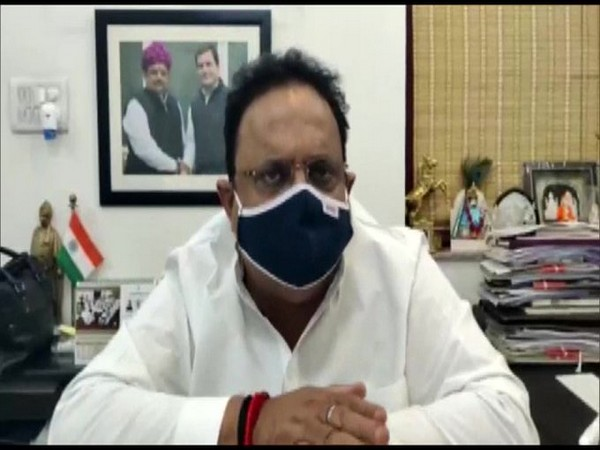 Rajasthan Health Minister Raghu Sharma (Photo/ANI)