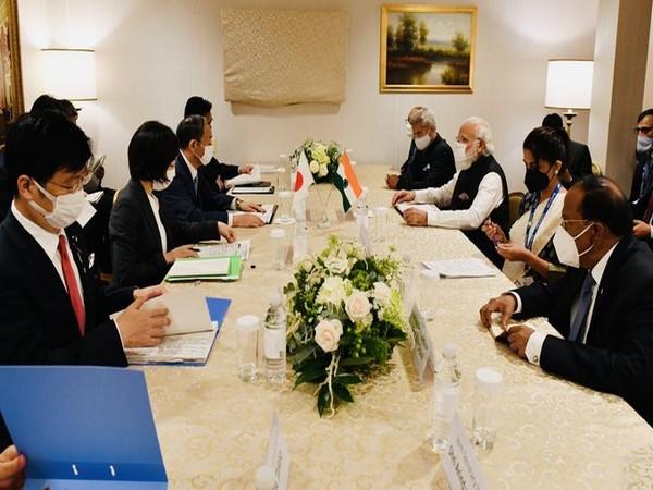 Prime Minister Narendra Modi and his Japanese counterpart Yoshihide Suga