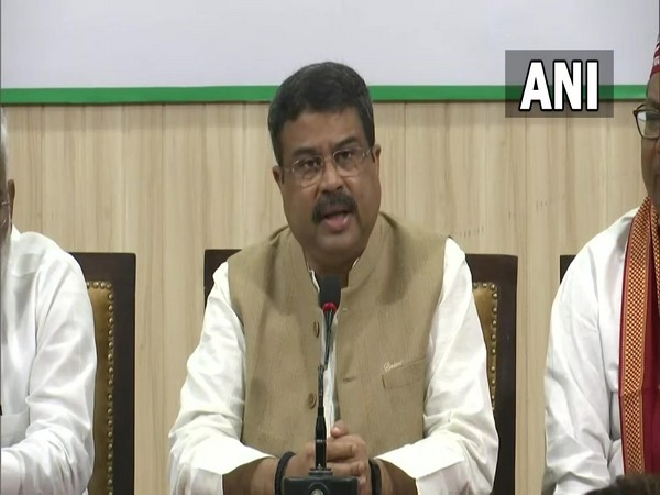 BJP's election in-charge in UP, Dharmendra Pradhan (Photo/ANI)