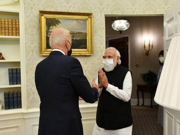 US President Joe Biden and Prime Minister Narendra Modi