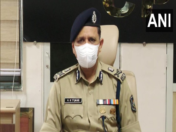 Surat Police Commissioner, Ajay Kumar Tomar. (Photo/ANI)