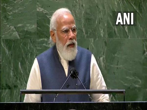 Prime Minister Narendra Modi at UNGA