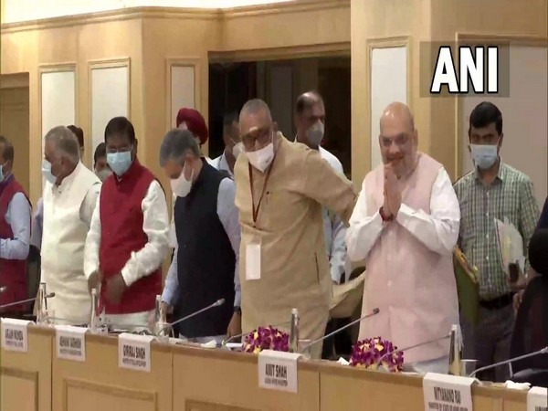 Review meeting on 'Left-Wing Extremism' underway in the national capital. (Photo/ANI)