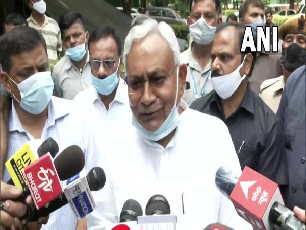 Bihar Chief Minister Nitish Kumar. (Photos/ANI)
