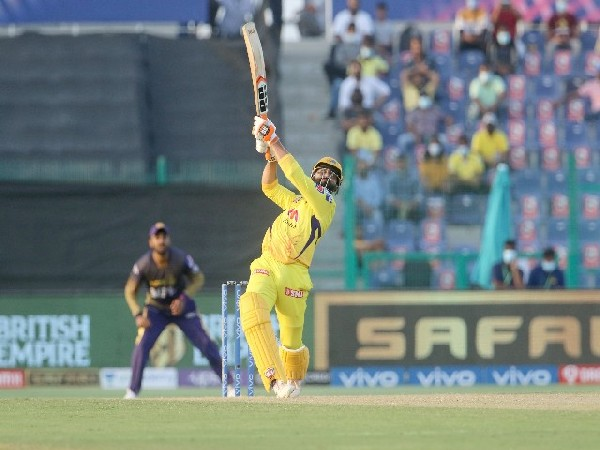 CSK all-rounder Ravindra Jadeja (Photo/ IPL Twitter)