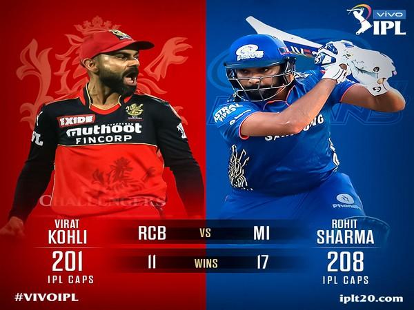 Virat Kohli and Rohit Sharma (Photo: Twitter/IPL)