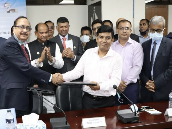 India signs to develop railway link in Bangladesh [Image: Twitter @ihcdhaka]