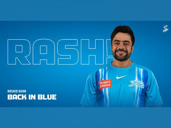 Adelaide Strikers sign Rashid Khan (Photo/ Adelaide Strikers Twitter)