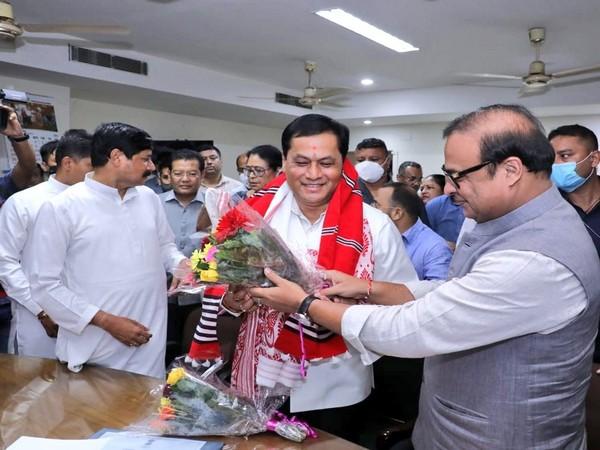 Union Minister Sarbananda Sonowal elected to Rajya Sabha from Assam (Photo/Twitter/Sonowal)