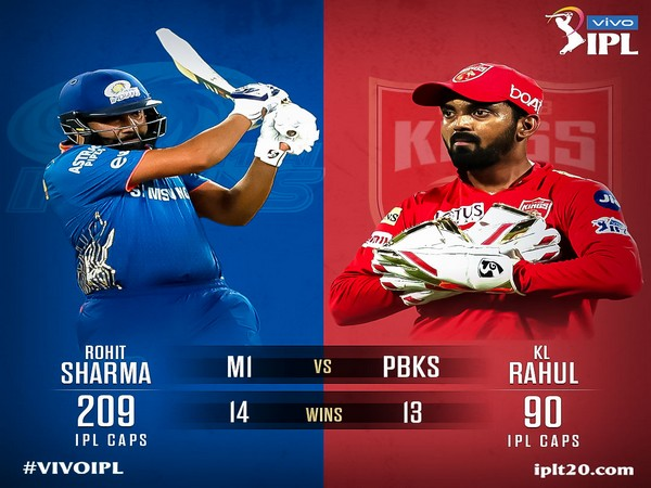 Mumbai play Punjab in Abu Dhabi. (Photo/ IPL Twitter)