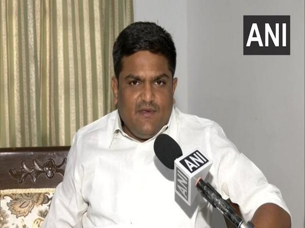 Gujarat Congress chief Hardik Patel speaking to ANI in Delhi on Tuesday. [Photo/ANI]