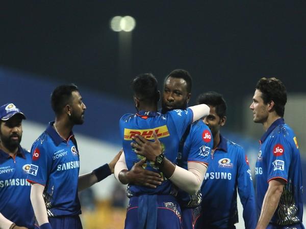 MI players celebrating against PBKS (Photo: Twitter/IPL)