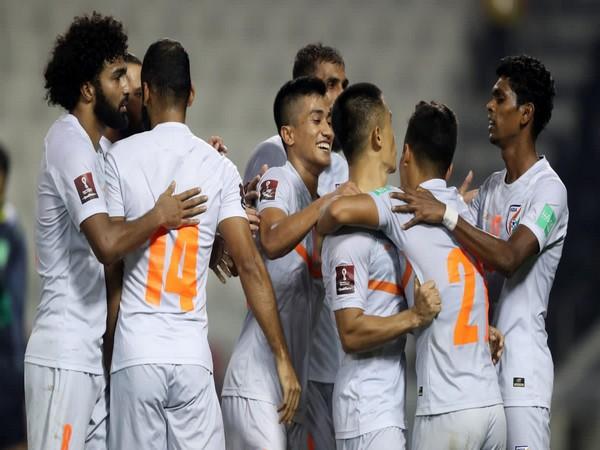 India Men's Football Team (Photo: Twitter/Anurag Thakur)