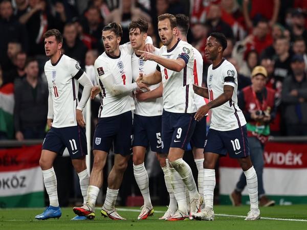 England men's football team (Photo: Twitter/Harry Kane)