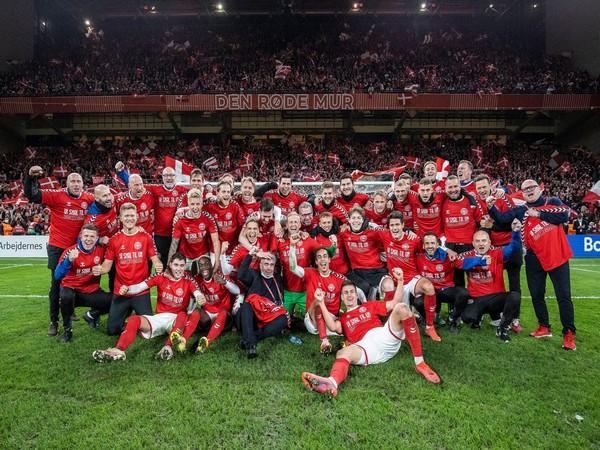 Denmark men's football team (Photo: Twitter/Fodboldlandsholdene)