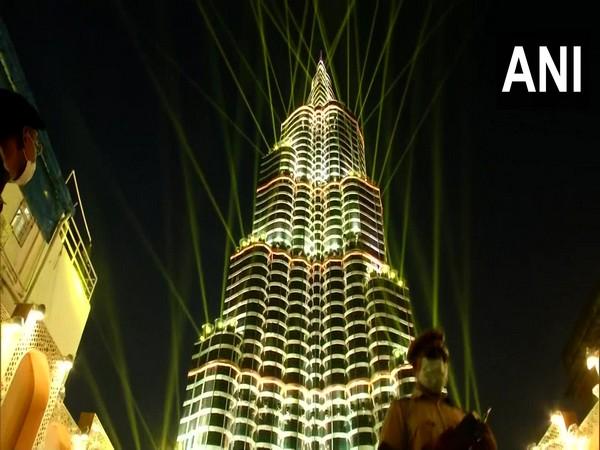 Kolkata's Sree Bhumi Puja Pandal themed Burj Khalifa